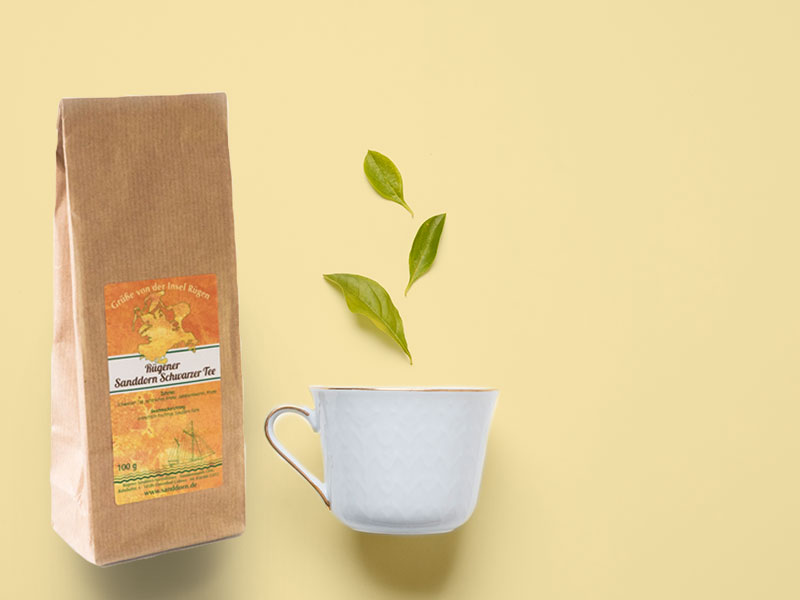 Sanddorn Produkte von Rügen - Tee ist eine Lebensart.